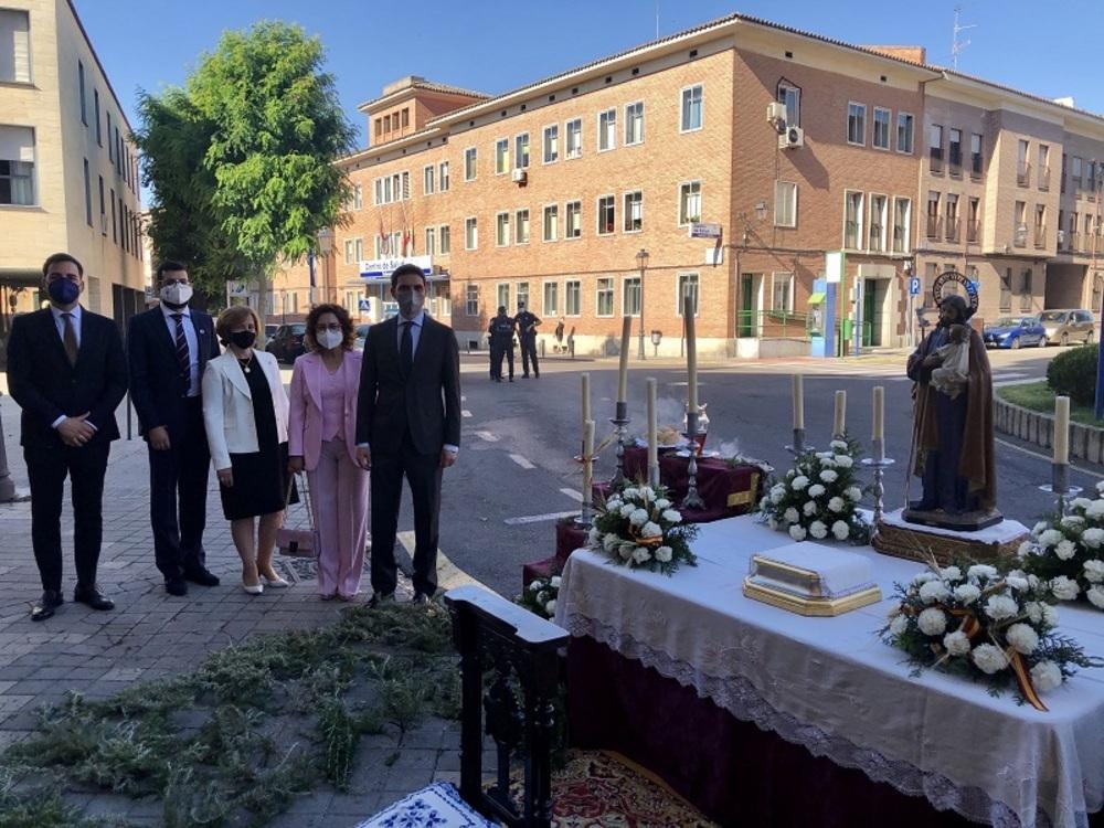 La Colegial acoge la celebración del Corpus en Talavera