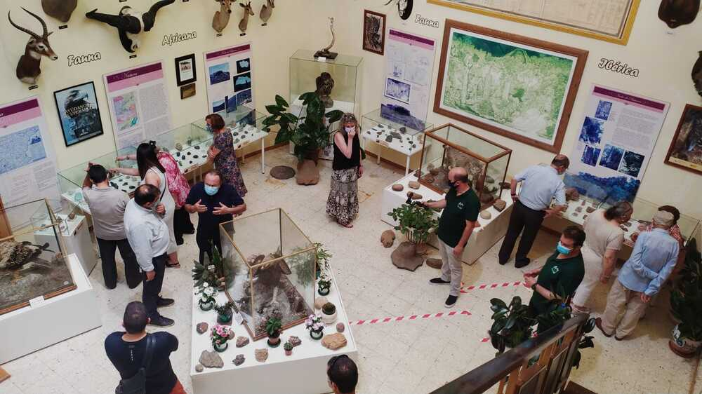 El Museo de la AVAN de Viso acoge 200 minerales más