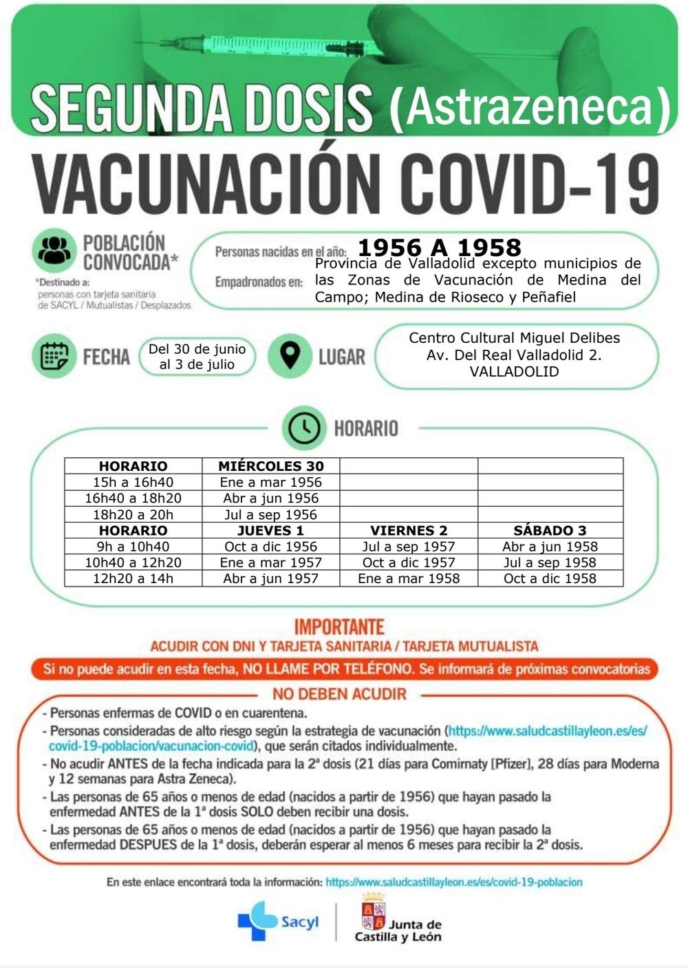 Carteles vacunación.
