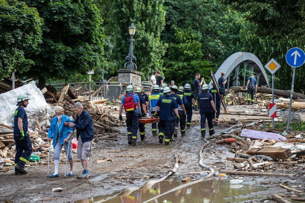Las muertes por las inundaciones en Alemania llegan a 80