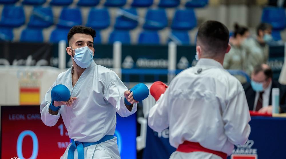 Raúl Cuerva estará en el equipo nacional de kumite.