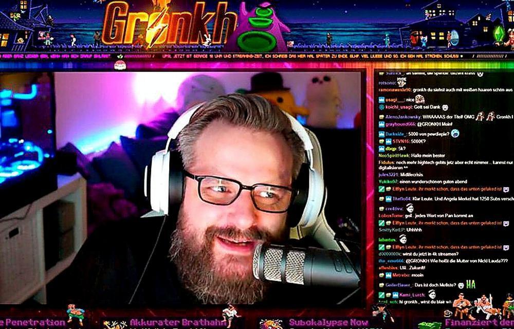 Erik Range, conocido como 'Gronkh' tiene más de 1,1 millones de seguidores.