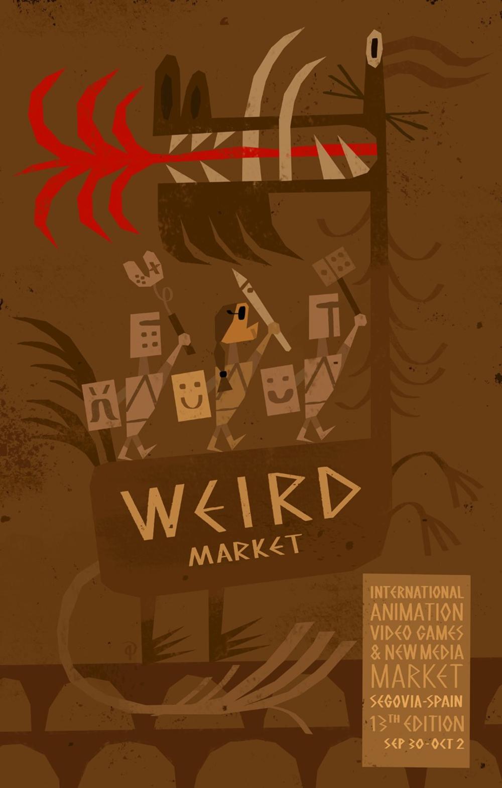 El cineasta Pablo Berger estará en el próximo Weird Market
