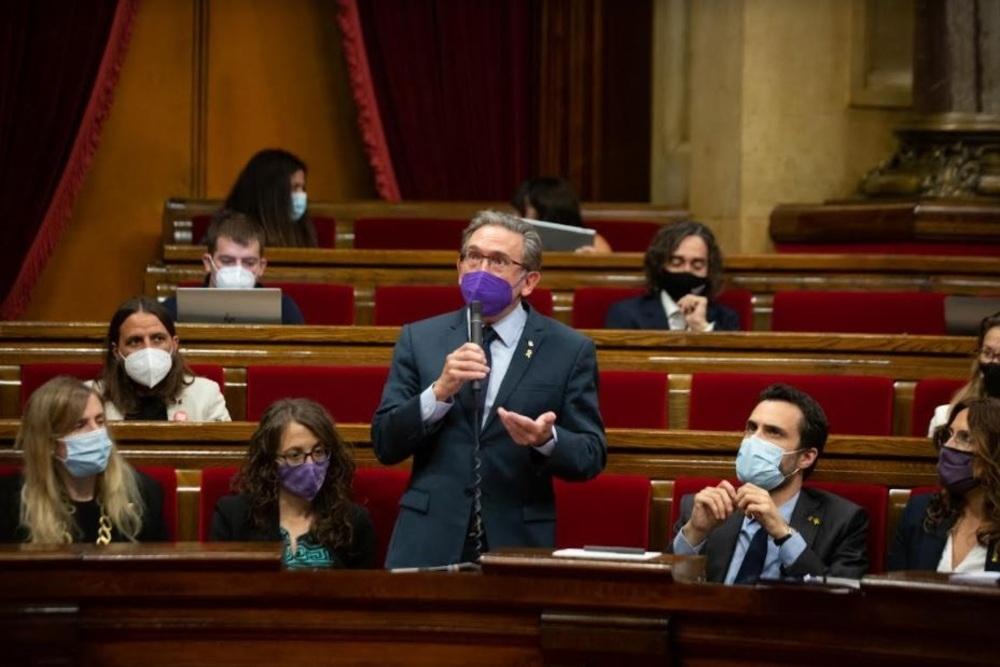 El conseller de Economía y Hacienda de la Generalitat, Jaume Giró