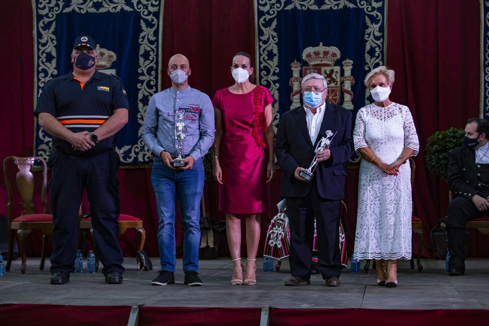 feria de agosto de ciudad real, nombramientos de ciudadano ejemplr y pregón de feria a cargo del periodista de RNE Villarroel