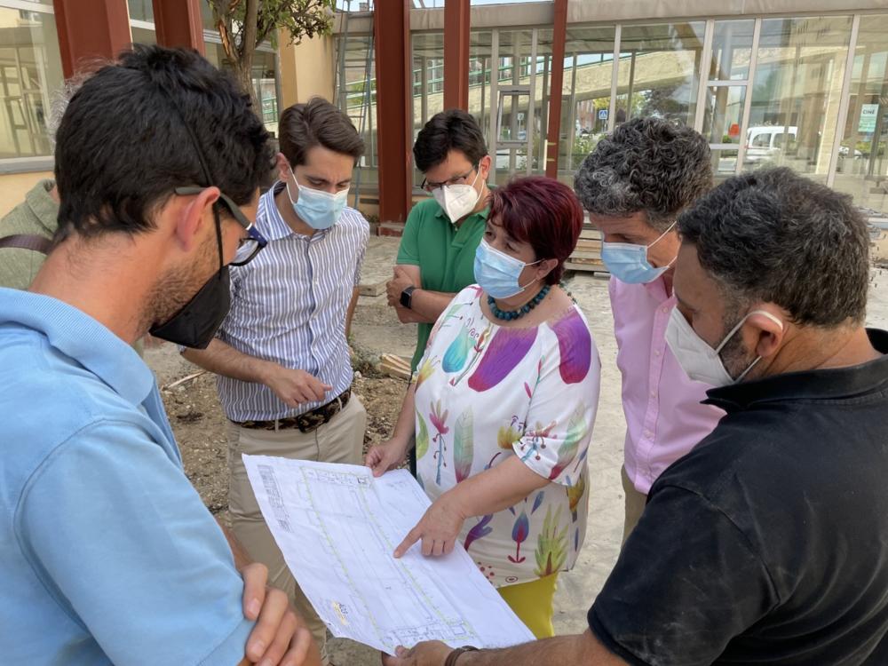 Avanza en plazo la obra del centro cívico de Nueva Segovia
