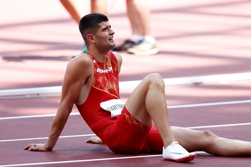 Asier Martínez, sexto en la final olímpica: