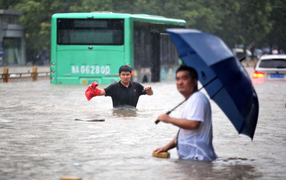 Flooding in China's Henan province