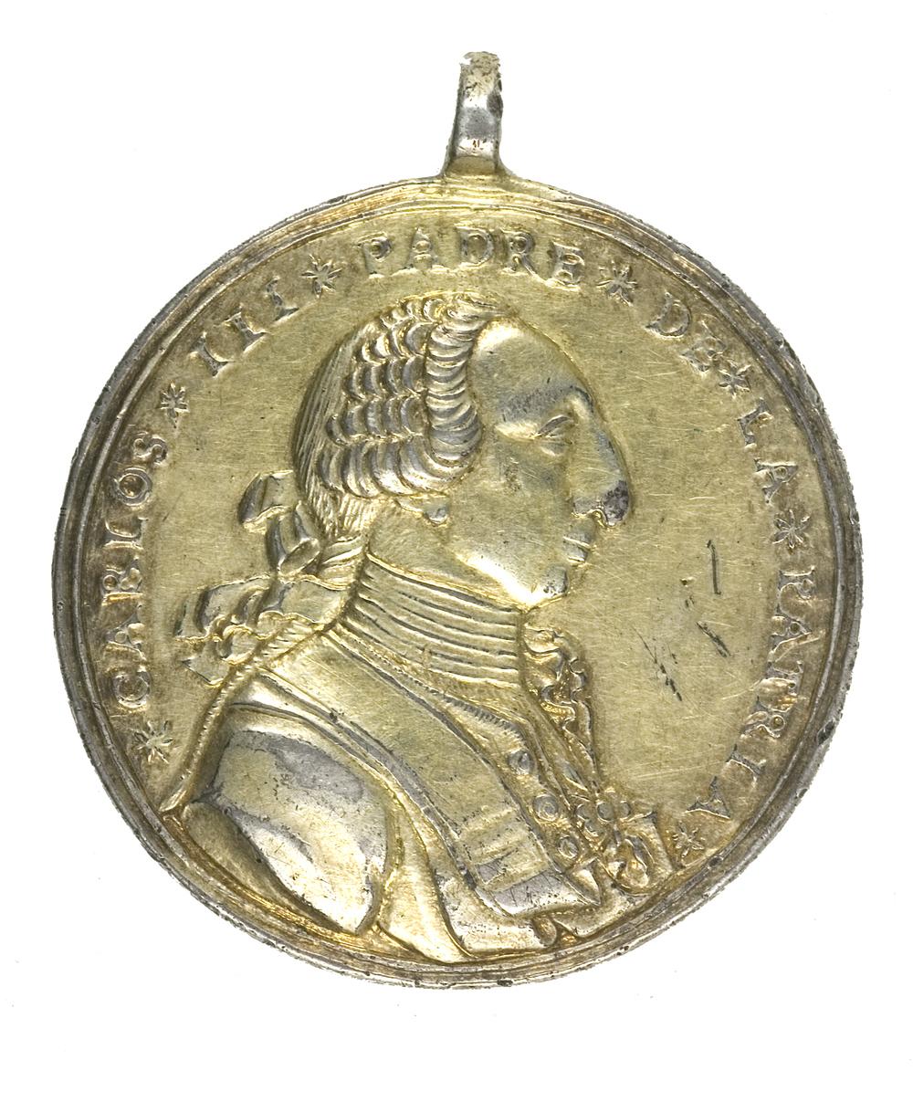 Condecoración Carlos III padre de la patria