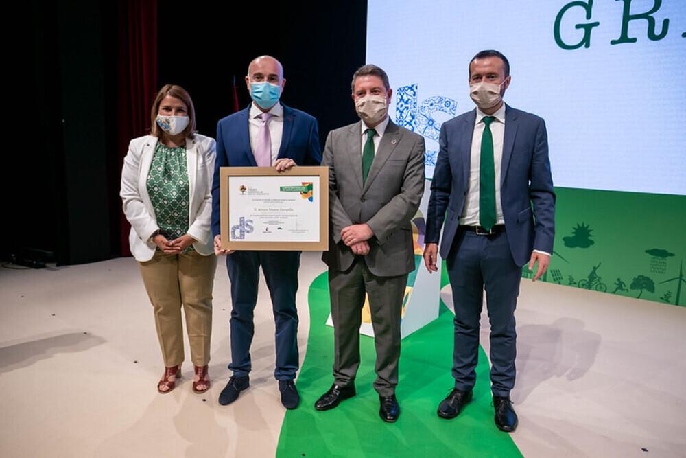 La Junta entrega 21 premios al trabajo por el medio ambiente