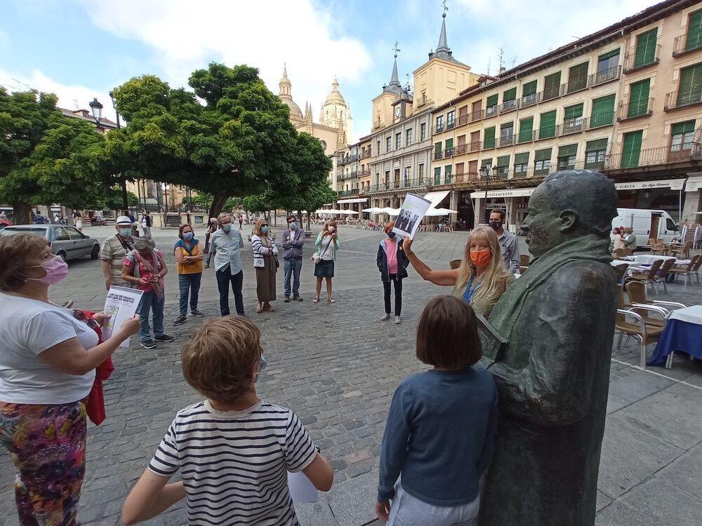 Segovia celebra el 146 aniversario del nacimiento de Machado