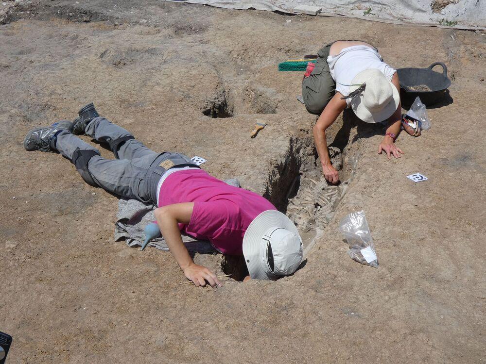 Nuevos hallazgos en el yacimiento de Santa Lucía