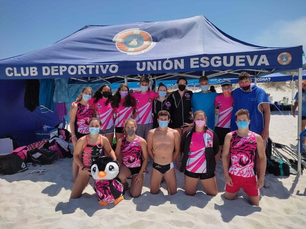 El Unión Esgueva roza varios podios en el Nacional sénior