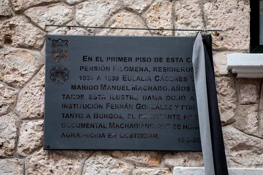 Eulalia Cáceres y Manuel Machado se quedan a vivir en Burgos
