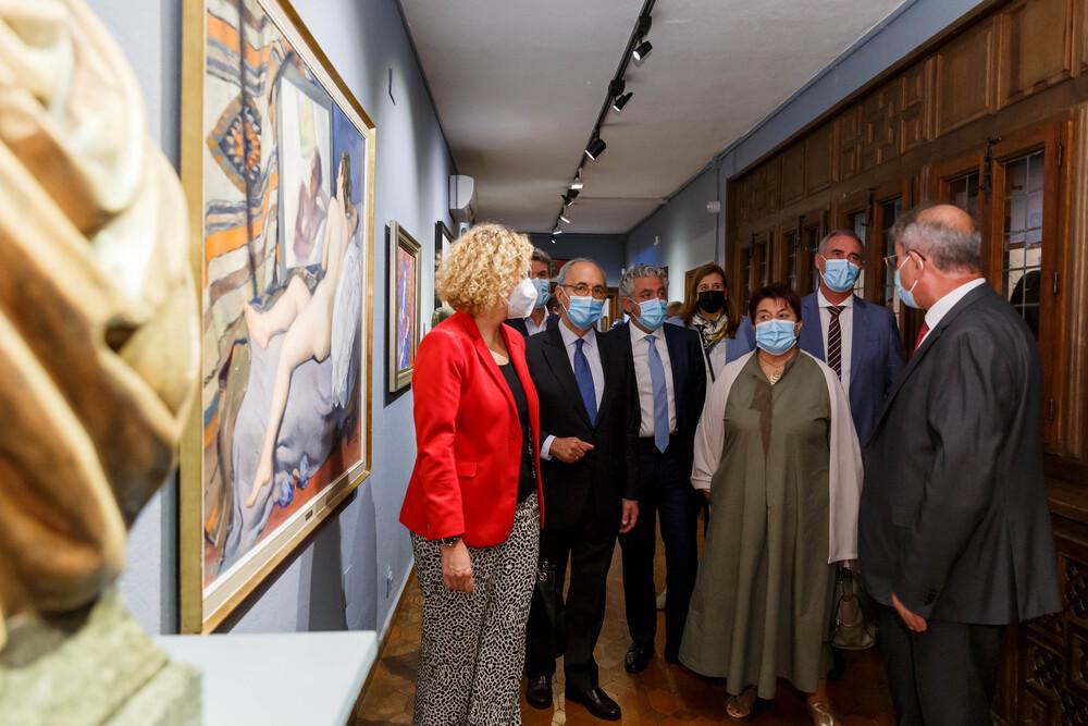 Inauguración del Museo de la Fundación Caja Segovia en el Torreón de Lozoya
