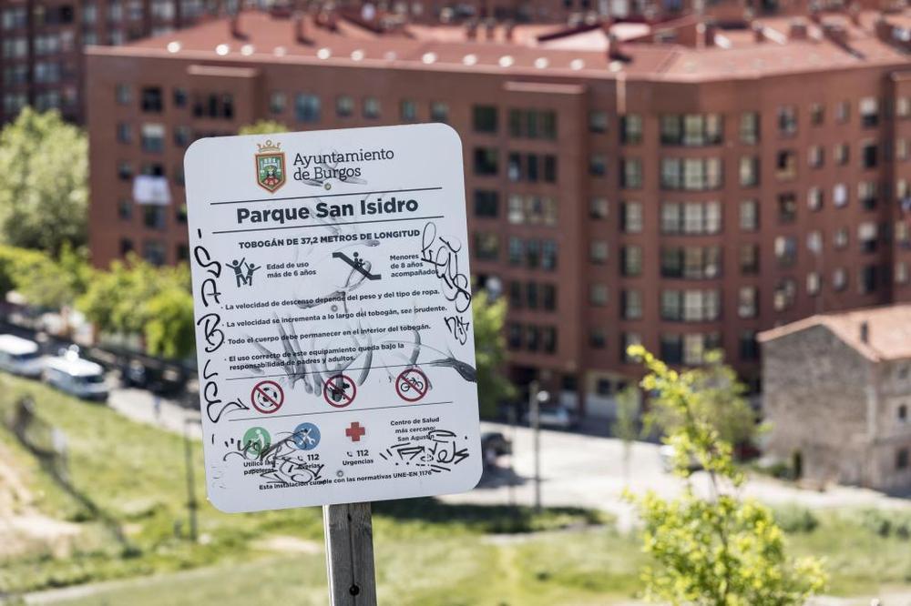 Se proponen mejoras de accesibilidad en el parque San Isidro.