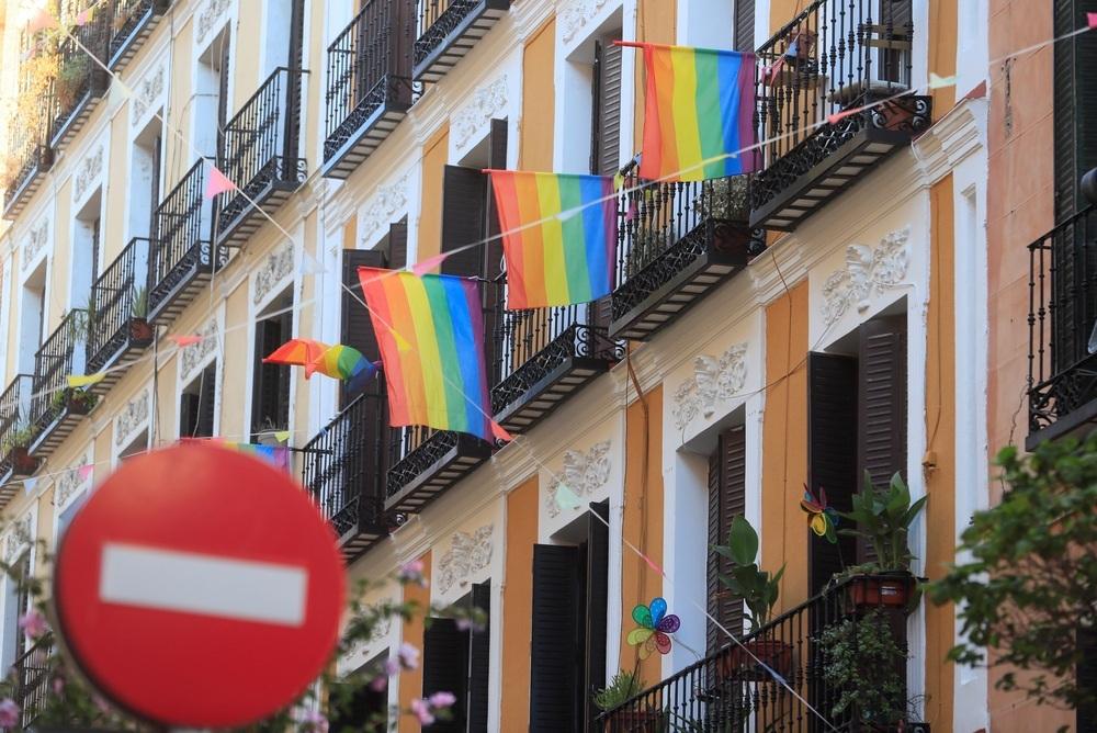 El joven que denunció una falsa agresión homófoba en Madrid.