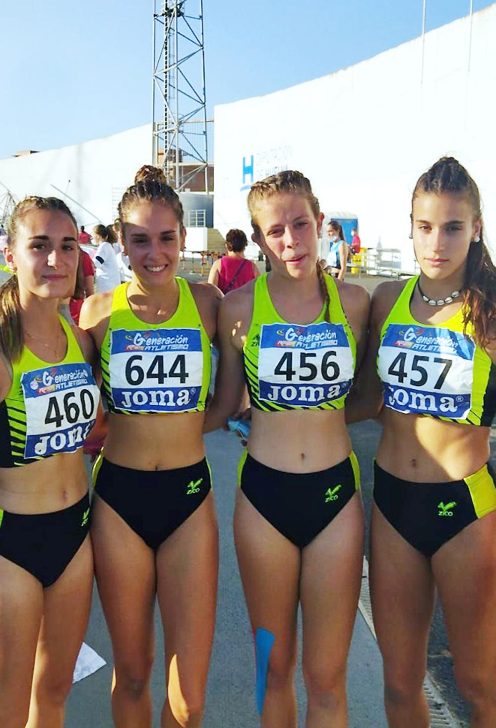 Cinco medallas para el Club Atletismo Puentecillas