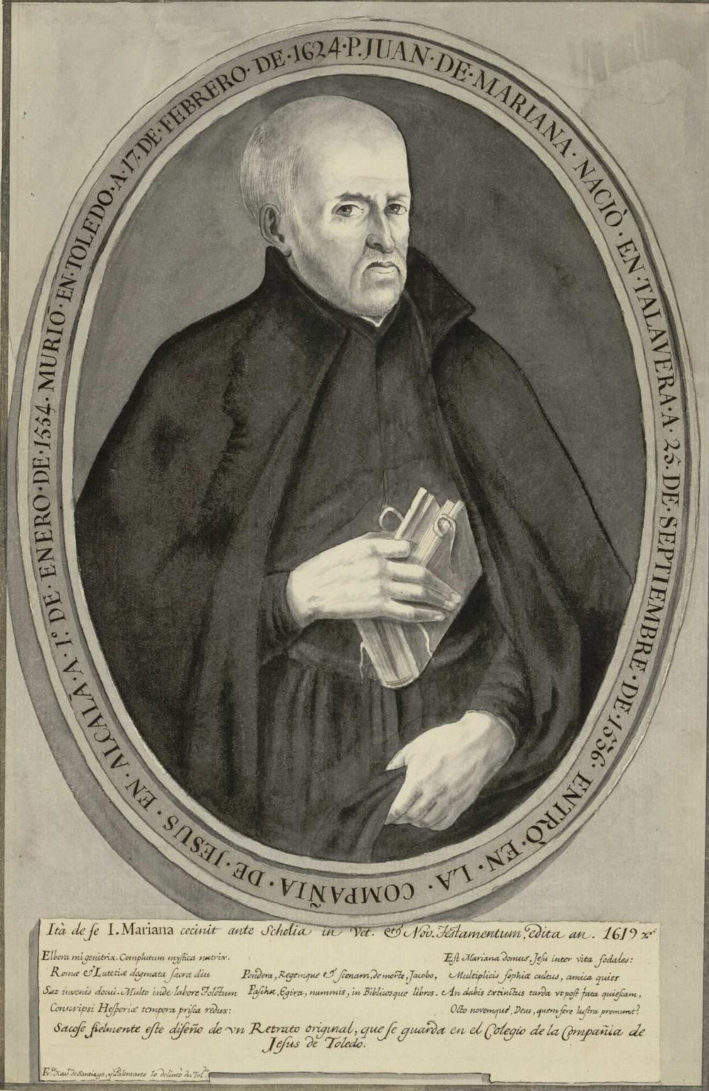El insigne padre Juan de Mariana a los 485 años de su muerte