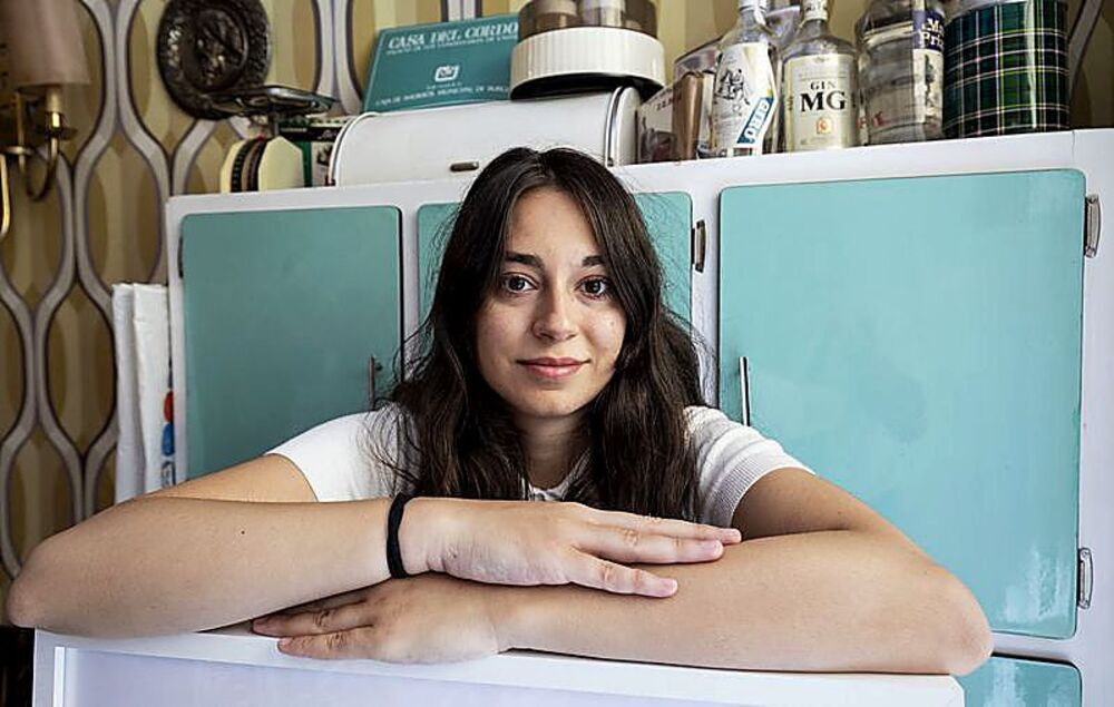Virginia Villacisla está orgullosa de exportar el nombre de su pueblo.