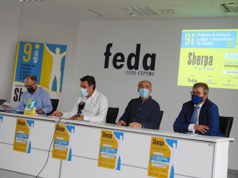 Llaman a emprendedores de Villarrobledo a vivir el Sherpa