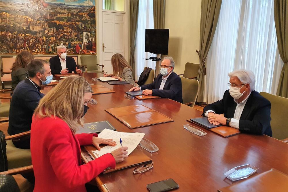 Diputación presta su apoyo a los Grupos de Desarrollo Rural