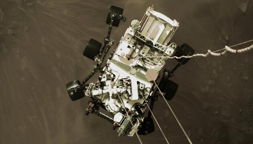 La NASA publica la primera grabación de sonido de Marte