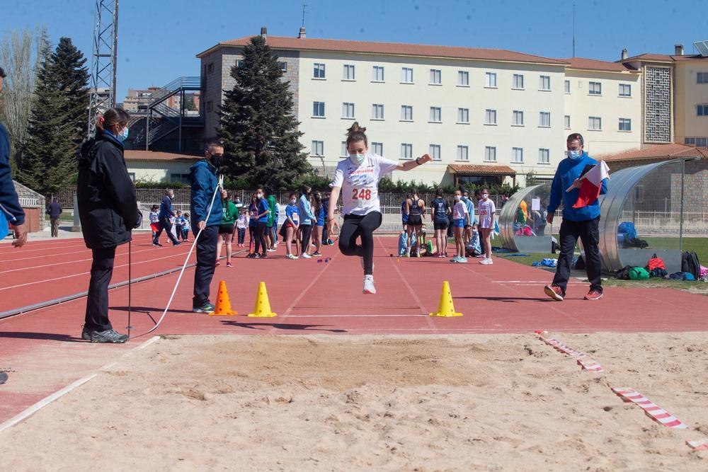 Las pistas de la Ciudad Deportiva se abrieron para esta actividad.