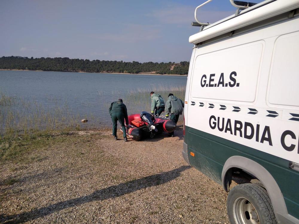 La Guardia Civil coordina el operativo de búsqueda