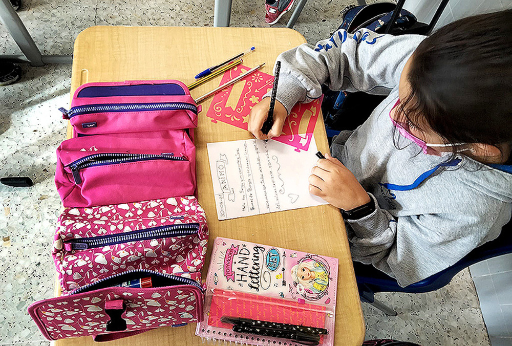 En Maristas el Liceo Castilla han participado los alumnos de quinto.