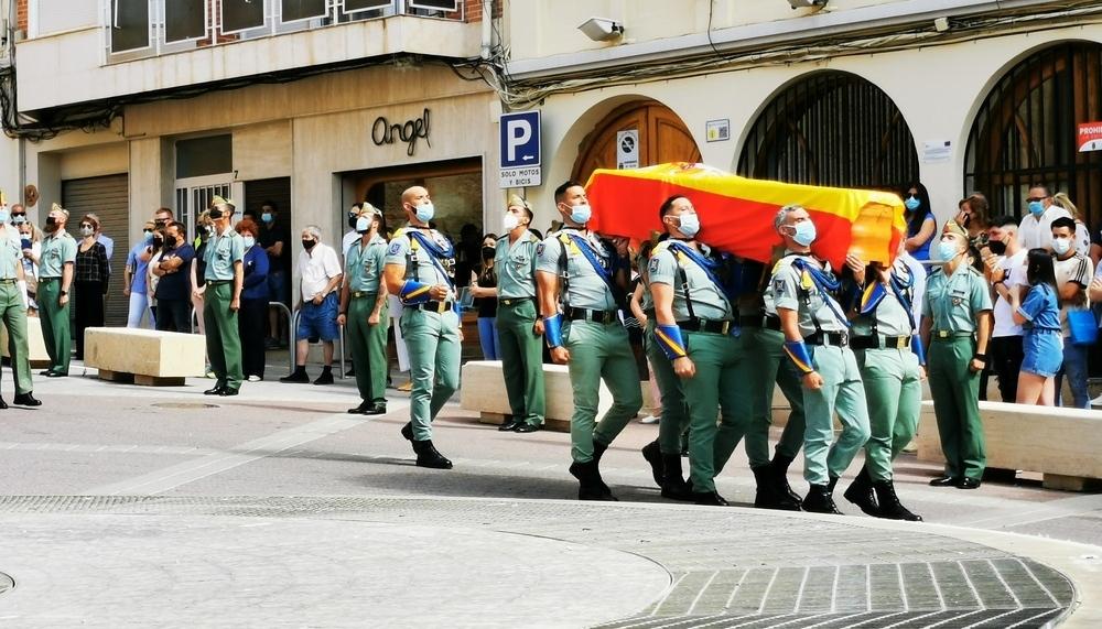 Entierran en Hellín al sargento fallecido en Cartagena