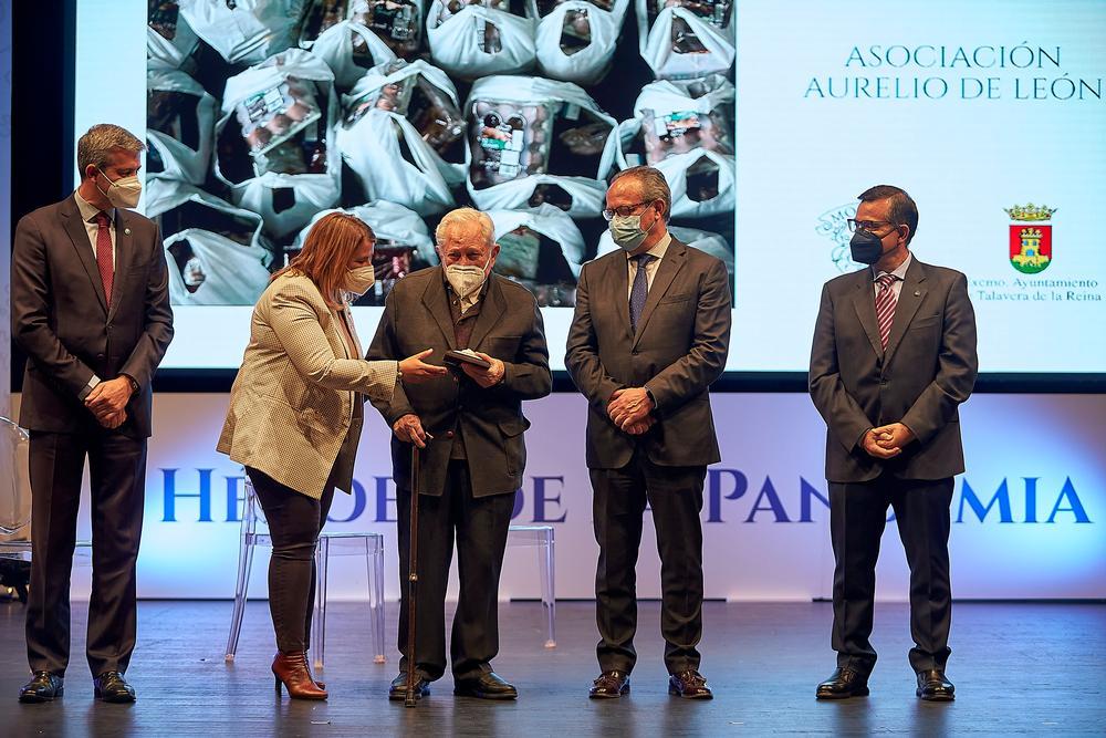 Entrega de los premios Ciudad de Talavera 2021