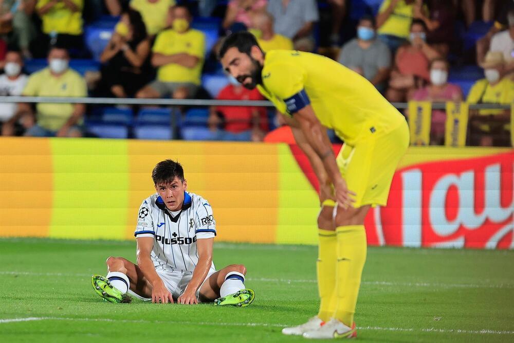 El Villarreal no puede con un incómodo Atalanta