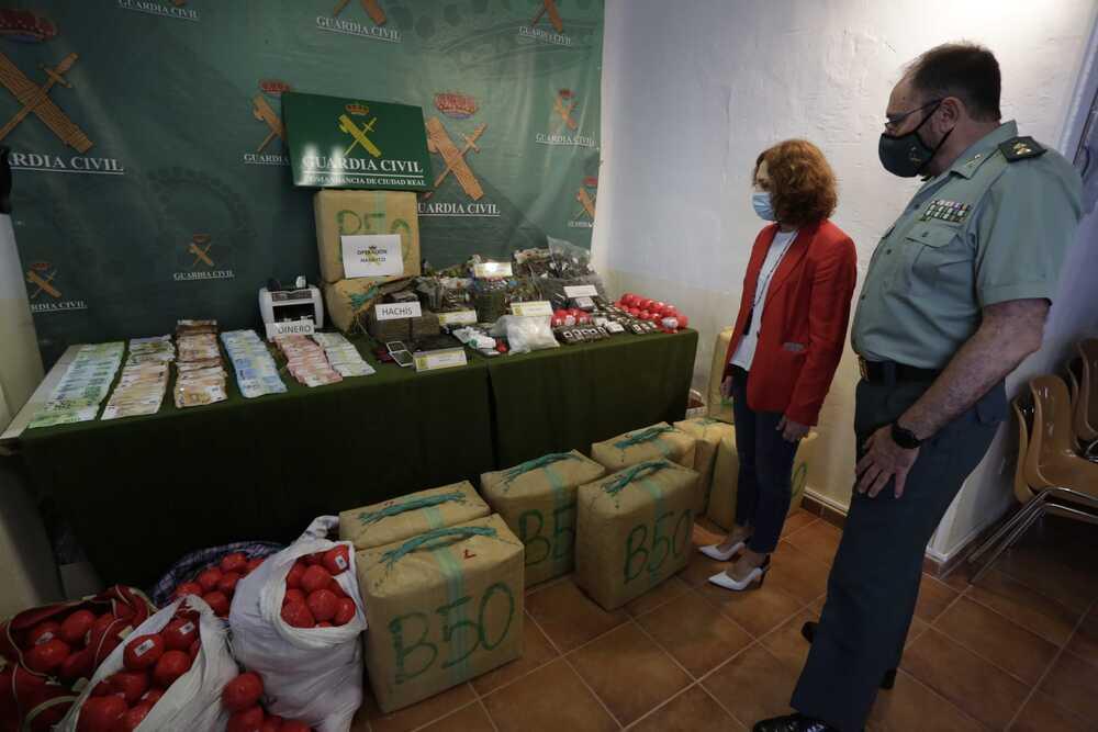 30 detenidos en una operación contra el tráfico de drogas