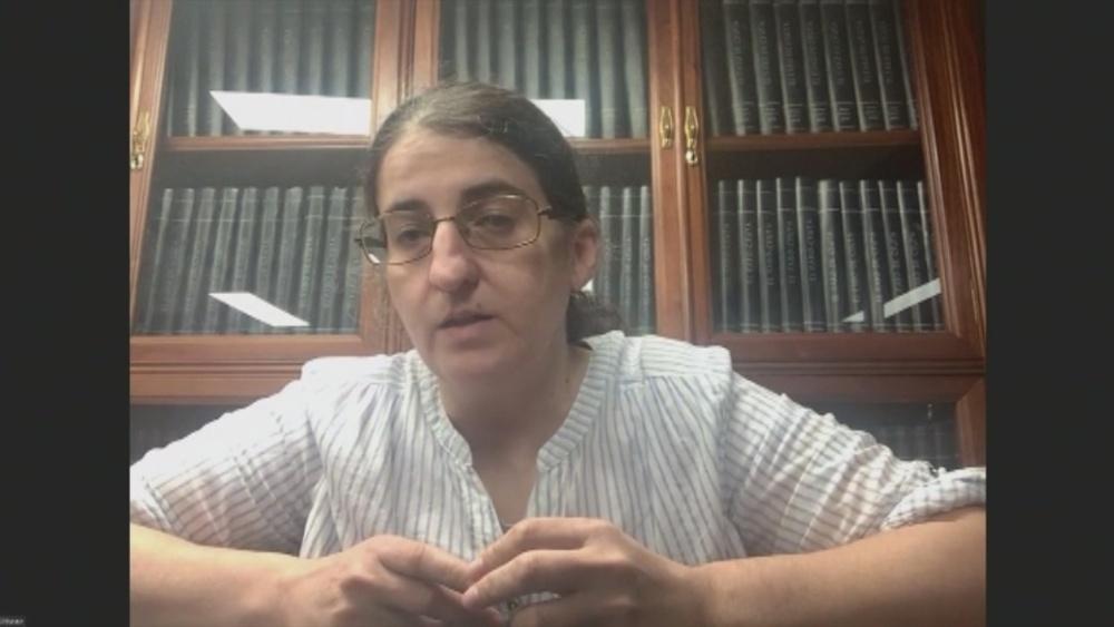 La periodista navarra Carmen Echarri