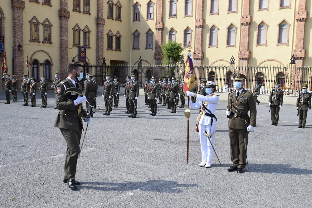 La Academia de Artillería celebra el acto de fin de curso