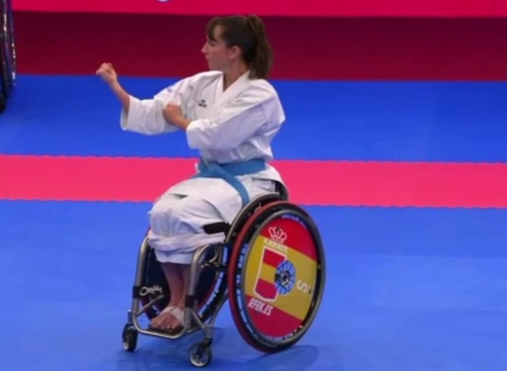 Isabel Fernández, otra vez campeona de Europa