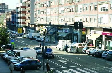 Calle Madre de Dios, en la zona Hospital-San Pedro.
