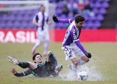 El último Real Valladolid-Elche data de 2014 y acabó con 2-2.