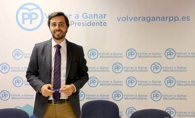 Borja García Carvajal es el nuevo gerente del PP regional