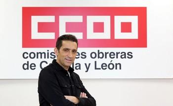El secretario autonómico de CCOO, Vicente Andrés.