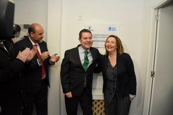 García-Page inaugura las nuevas instalaciones de Aspas