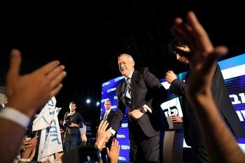 Gantz se posiciona como vencedor de las elecciones israelíes