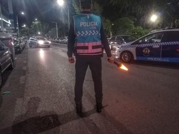 Operativo de la Policía Local albacetense.