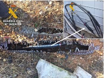 Dejan sin agua a un pueblo tras robarles varias tuberías