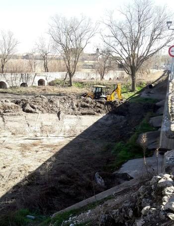 Fomento arregla los desperfectos del puente romano