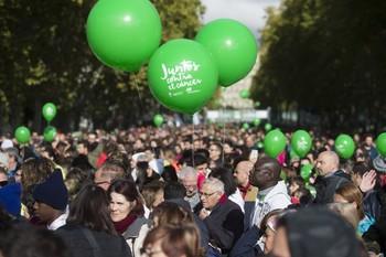 La VIII Marcha contra el Cáncer espera a 55.000 personas