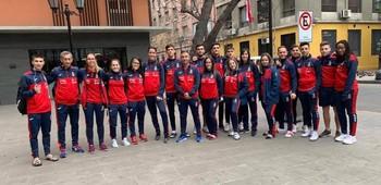 Cuatro karatecas de la provincia compiten en Santiago