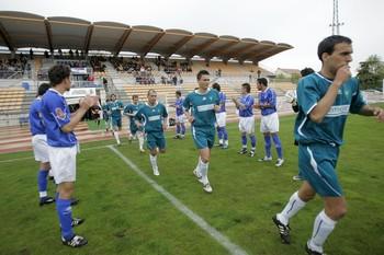 Imagen del partido celebrado en la temporada 2007/08