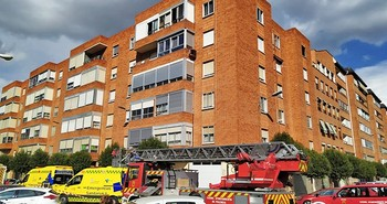 3 intoxicados por respirar humo en un incendio en Los Olmos